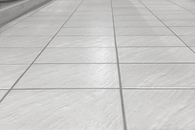 Kitchen tiles with anti-slip class R11