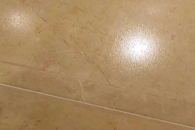 SWISSGriP coating on natural stone floor